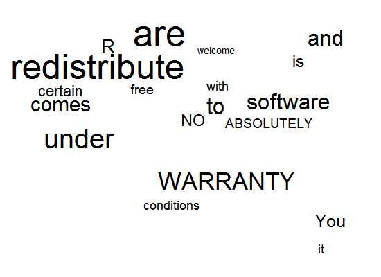Creating Tag Cloud Using R and Flash / JavaScript (SWFObject)
