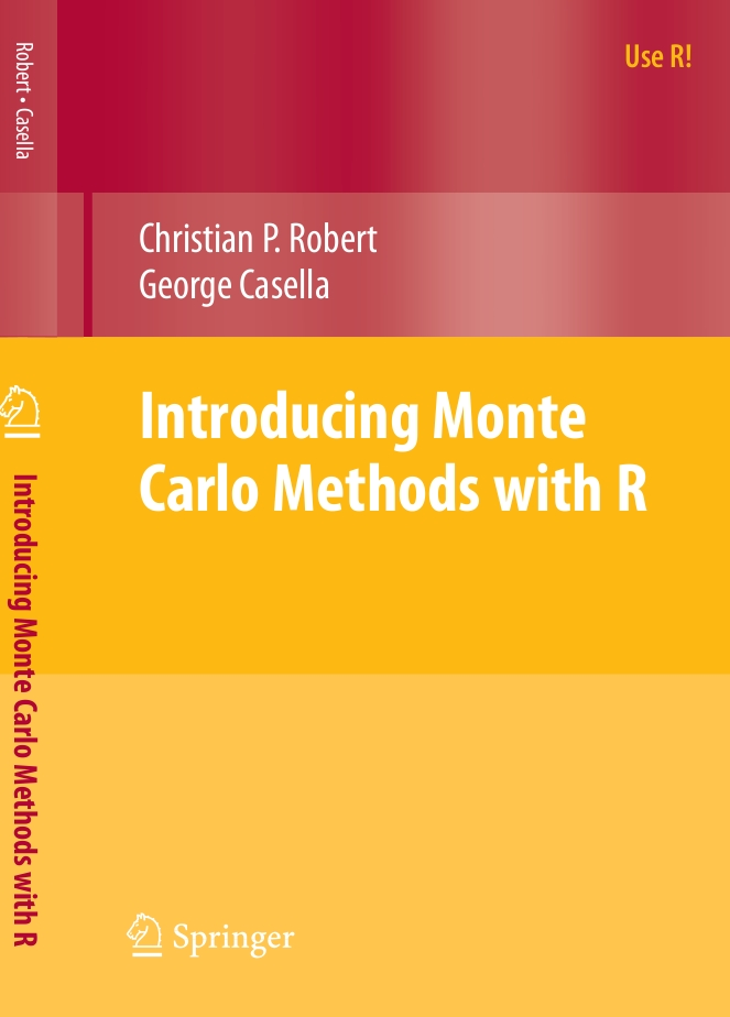 """""""Introducing Monte Carlo Methods with R"""" is out!"""
