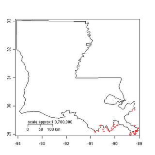 Plotting BP Oil Spill Testing Data using R
