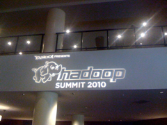 My Experience at Hadoop Summit 2010 #hadoopsummit