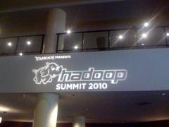 My Experience at Hadoop Summit 2010 #hadoopsummit