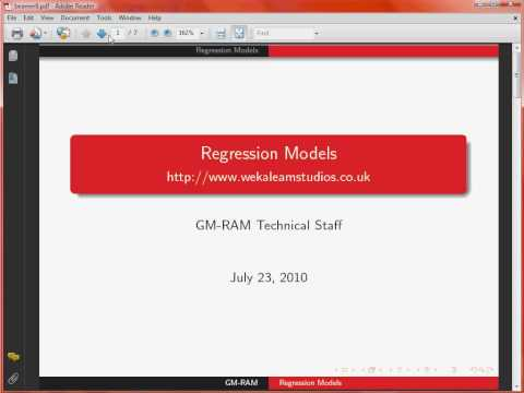 Creating a Presentation with LaTeX Beamer – Equations and tikz