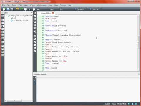 Creating a Presentation with LaTeX Beamer – Using Overlays