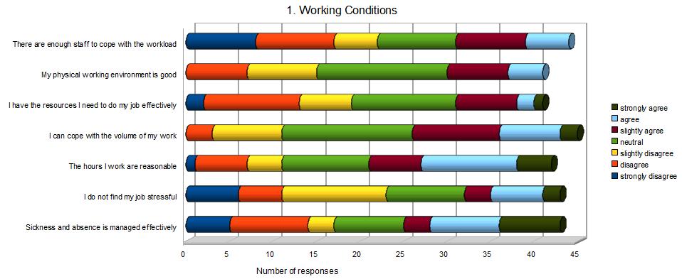 Visualising questionnaires