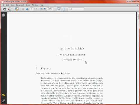 LaTeX Typesetting – Document Structure