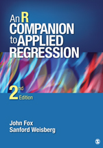 "New edition of ""R Companion to Applied Regression"" – by John Fox and Sandy Weisberg"