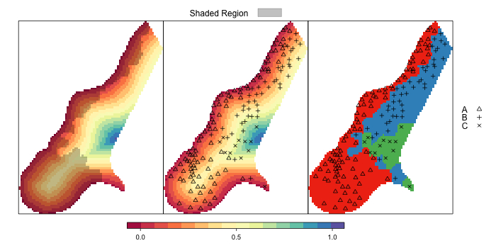 Customizing Maps in R: spplot() and latticeExtra functions