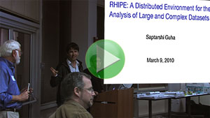 RHIPE: An Interface Between Hadoop and R for Large and Complex Data Analysis