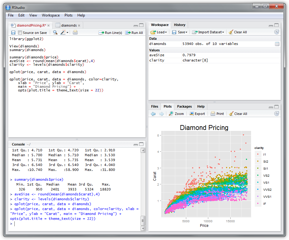RStudio: just what I've been looking for