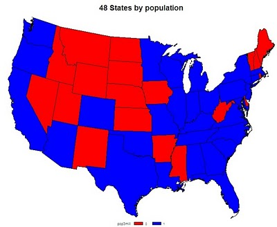Example 8.31: Choropleth maps