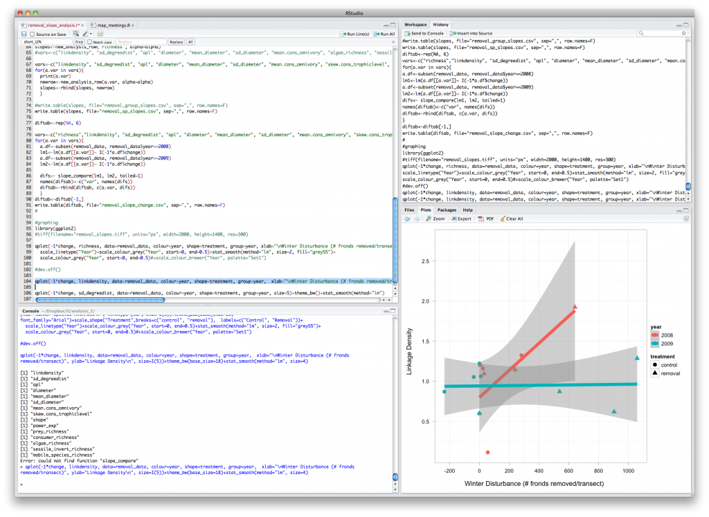 RStudio – An IDE for the Masses!