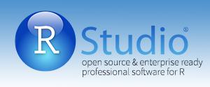 RStudio homepage