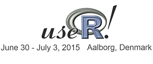 useR! 2015 conference in Aalborg
