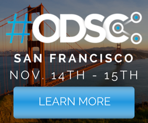 5% Discount for the Open Data Science conference (@San Francisco / November 14th & 15th)